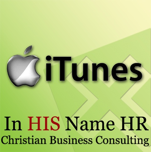 In HIS Name HR on iTunes!