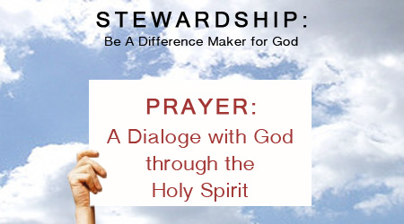 Stewardship of Prayer