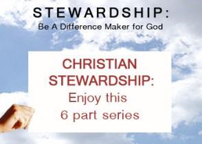 Stewardship Blog Series