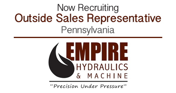 Now Recruiting: Outside Sales Representative, Lancaster PA