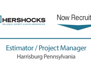 Now Recruiting Estimator / Project Manager Harrisburg PA