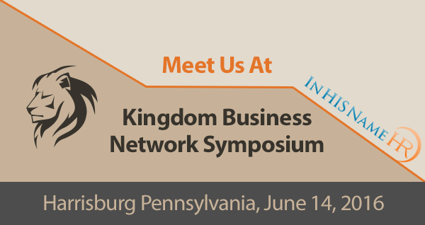 Harrisburg PA Kingdom Business Network (KBN) Symposium