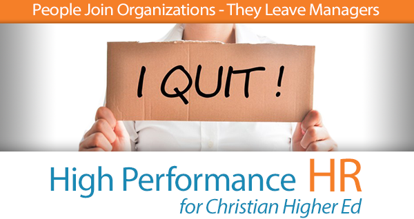 People Join Organizations- They Leave Managers