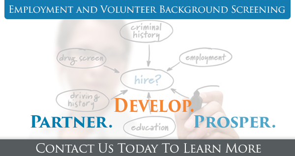 Employment and Volunteer Background Screening