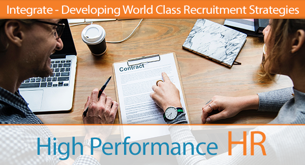 Integrate - Developing World Class Recruitment Strategies