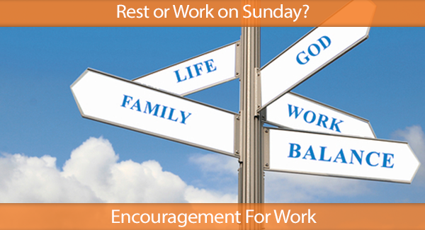 Rest or Work on Sunday? IHN HR