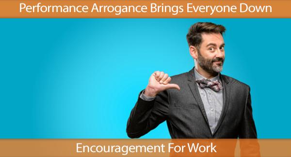Arrogance Brings Everyone Down