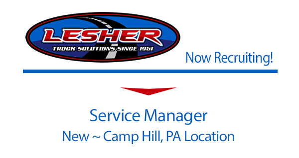 Now Recruiting Service Manager Camp Hill, PA