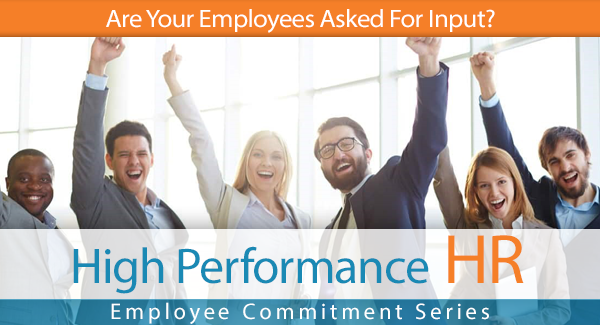 Are Your Employees Asked For Input?