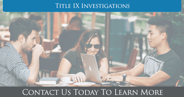 Title IX Investigations In HIS Name HR LLC